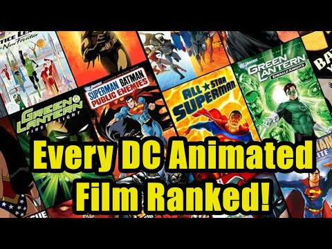 Every DC Animated Original Film Ranked!