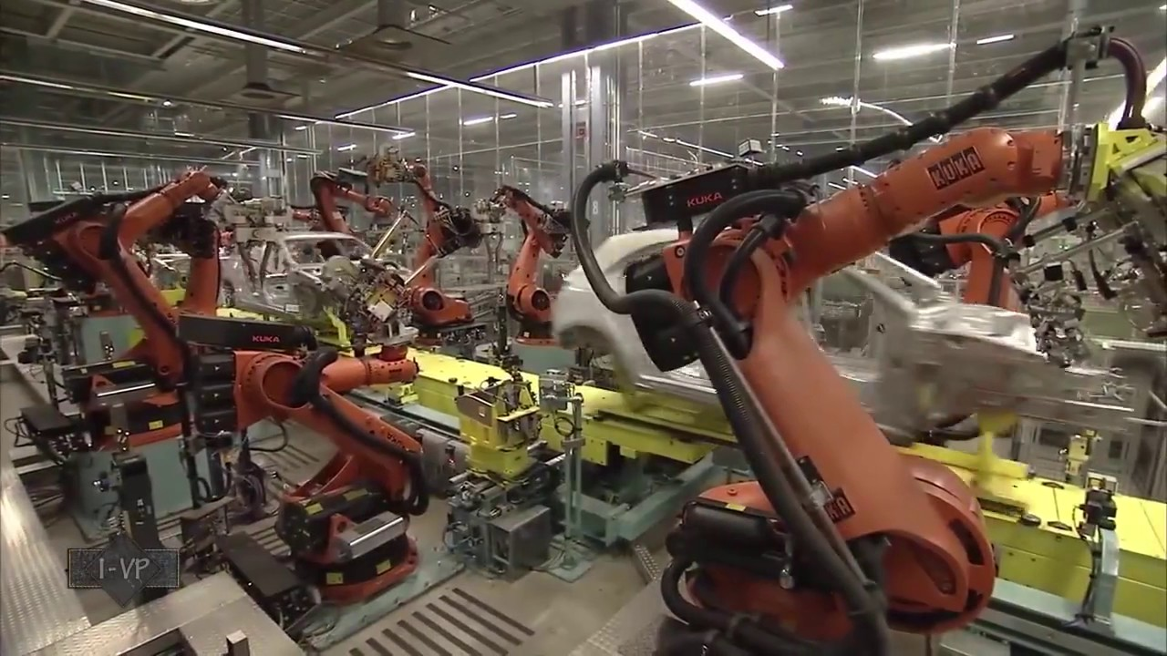 mercedes a class production line - youtube