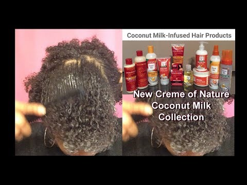 New Creame of Nature Coconut Milk Collection
