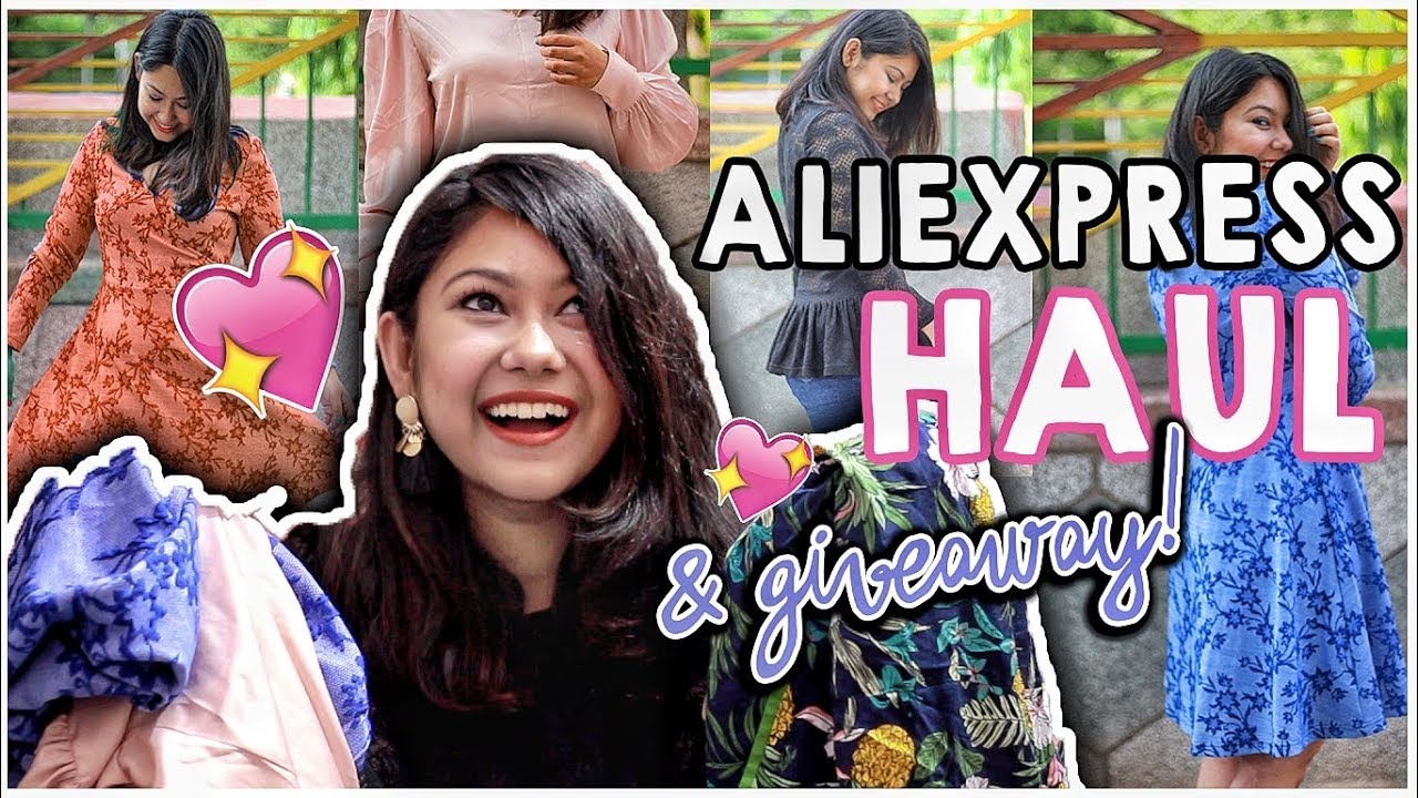 ✅ALIEXPRESS HAUL| SAFE OR NOT? Honest Indian Review+GIVEAWAY| ThatQuirkyMiss