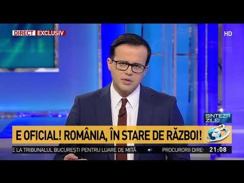 Mihai Gâdea: E oficial! România e în stare de război