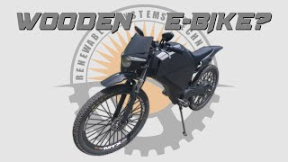 Building An Electric Motorbike...Out Of Plywood? Plans Available