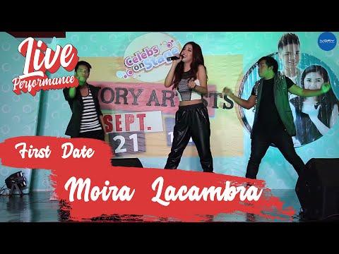 Moira Lacambra |  First Date | Live at Ever Manila Plaza