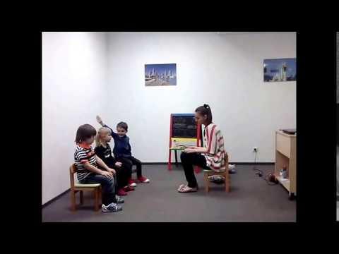 Урок английского языка для детей 5 лет Los Angeles English School
