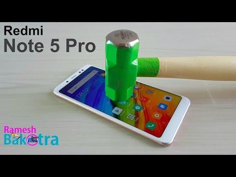 Redmi Note 5 Pro Screen Scratch Test