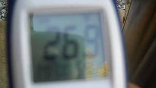 Off Gridder operating temperatures while running generator