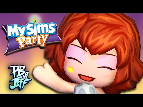 WELCOME TO FECESTON! - MySims Party (Part 1)