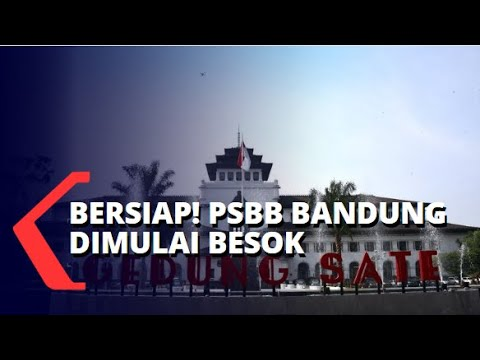 Ingat Psbb Bandung Raya Dimulai Besok 22 April 2020 Youtube