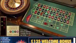 American Roulette at Intercasino