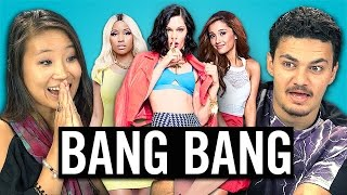 Jessie J, Ariana Grande, Nicki Minaj - BANG BANG (REACT: Lyric Breakdown)