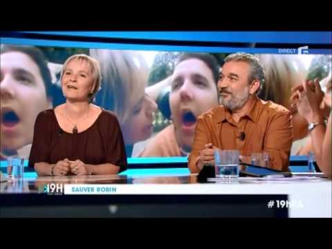 "Annick et Bruno RICHARD dans l'émission ""19H Paul AMAR"" sur France5 (ASSOCIATION ROBIN RICHARD)"