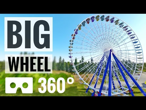 Big Ferris Wheel 360 video VR Roller Coaster Flat Ride Oculus Quest