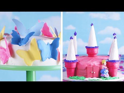 7 Easy and Adorable Cakes for Kids!- 7 món bánh dễ làm và dễ thương cho bé yêu