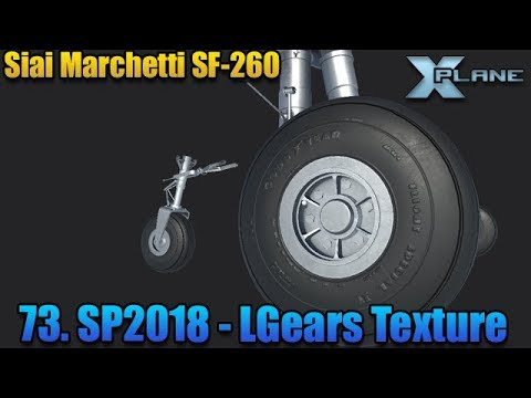 [SF260] 73. Texturing The Landing Gears - Substance Painter 2018