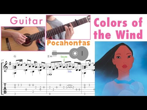 Colors of the Wind / Pocahontas (Guitar)