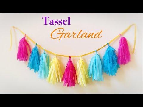Tassel Garland DIY