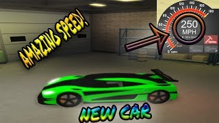 [Roblox: Ultimate Driving] NEW SUPER SPORTS CAR ( 250 MPH )