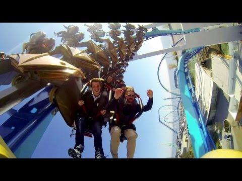 GateKeeper Ridercam On-ride Reverse HD POV Cedar Point