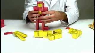 Magnetic Wooden Toys From Tegu - Building Iron Man