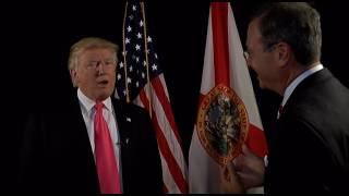 Video ABC7's Alan Cohn interviews Donald Trump at the Tampa rally download MP3, 3GP, MP4, WEBM, AVI, FLV Desember 2017