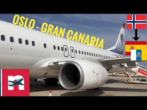 TRIP REPORT: Norwegian airlines Oslo-Grand Canaria 737-800