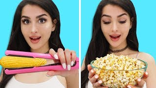 Download Trying FOOD Life Hacks to see if they work Mp3 and Videos