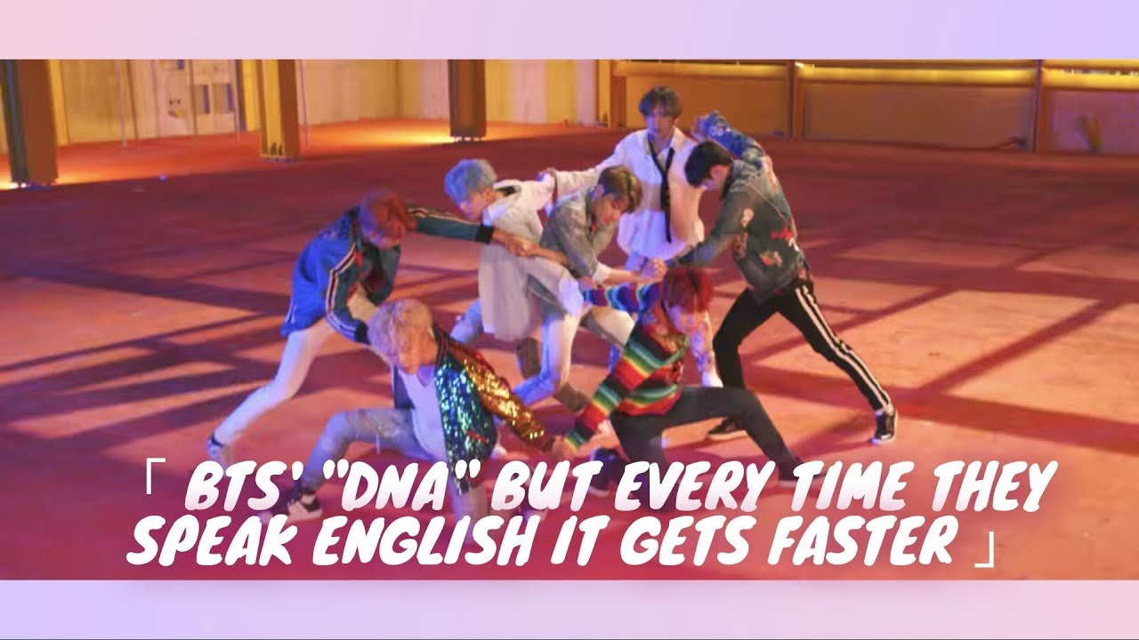 Eb B A Ed   Ec  C Eb   Eb B A Bts Dna But Every Time They Speak English It Gets Faster