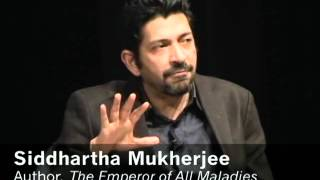 Pulitizer Prize winning author Siddhartha Mukherjee and his wife arist Sarah Sze at Asia Society