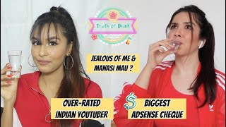 Answering Truth Or Drink Questions Ft. Heli Ved / Mridul Sharma
