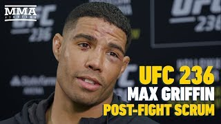 UFC 236: Max Griffin Details Several Altercations With 'Dirty' Zelim Imadaev During Fight Week