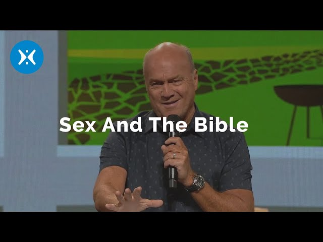 Sex and the Bible (With Greg Laurie)