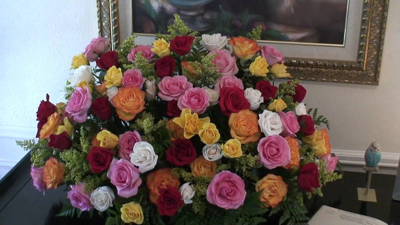 90 Roses For A 90th Birthday Youtube