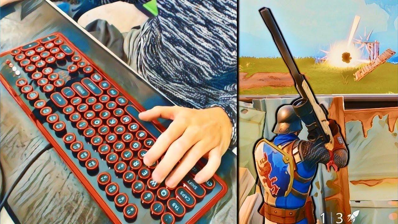 Keyboard Cam Fortnite Battle Royale Youtube