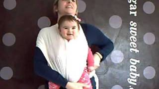 Baby Cuddle Wrap Front Facing Out Instructions