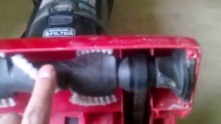 Belt problem in Vacuum Cleaners (Burning smell)