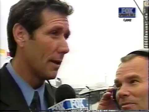 2000 - Tony George & Bernie Ecclestone Interviewed Before 1st Formula One Race in Indianapolis
