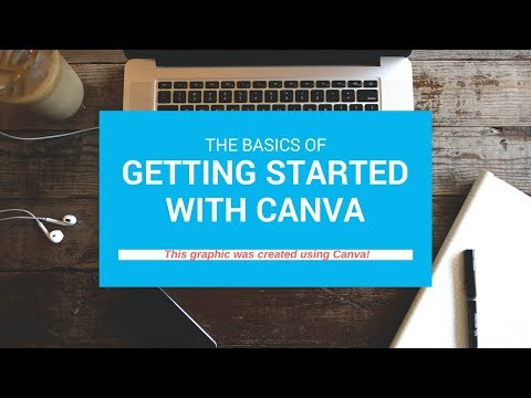 Canva how-to video:  Recommended small business resources