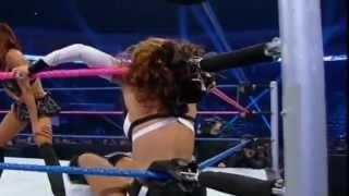 Layla vs Alicia Fox WWE Smackdown 10/5/12