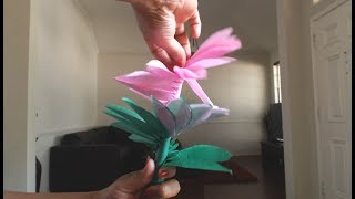 3 quick and easy paper tricks - tissue paper/ kite paper