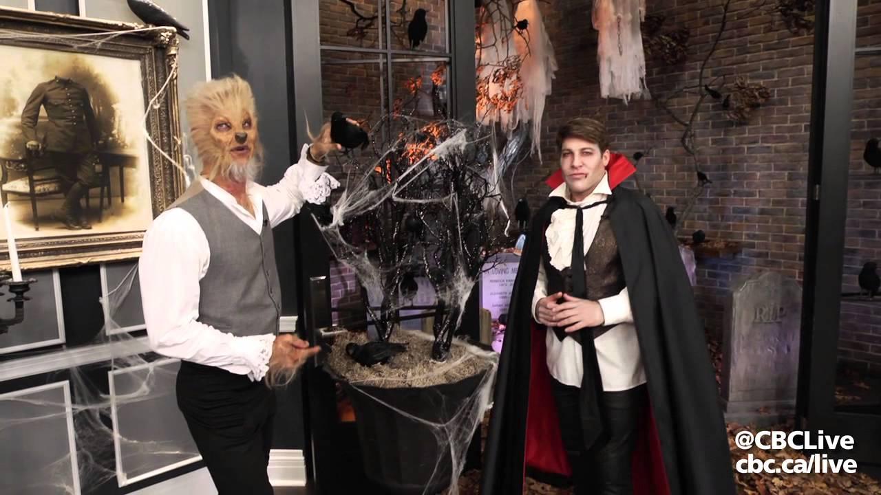 Chris hyndman hair piece - Steven And Chris Halloween Decor Tips Cbc