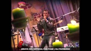 UDAYA SRI - Teri Deewani LIVE (Cover  Version On Rupavahini ThreeThaal On 02nd Jan 2013)