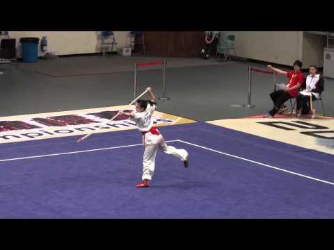 2012 World Junior Wushu Champ   QSF A   YAMAMOTO CHIHIRO   JPN   9 49   1