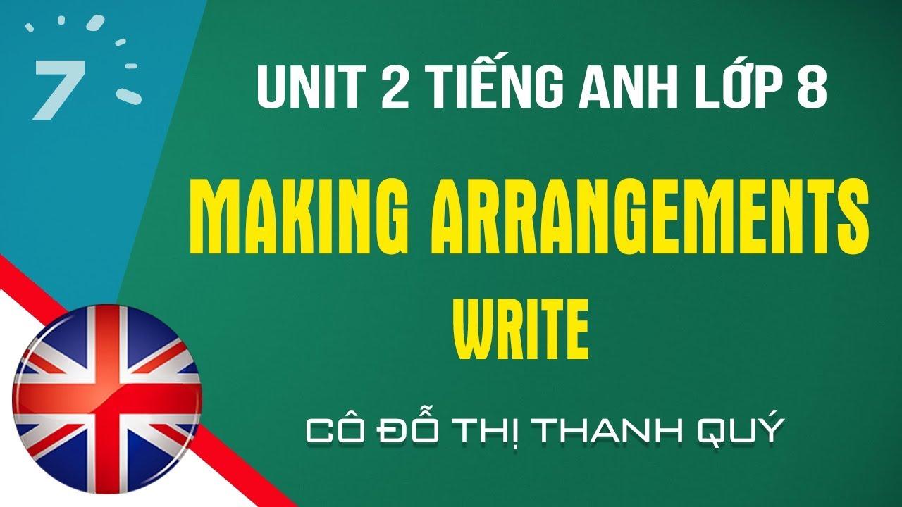 Unit 2: Write trang 23 SGK Tiếng Anh lớp 8 |HỌC247