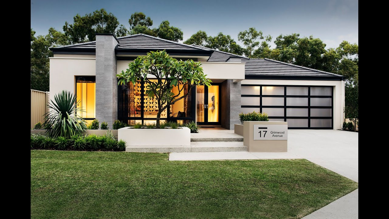 Nine - Modern Home Design - Dale Alcock Homes - YouTube