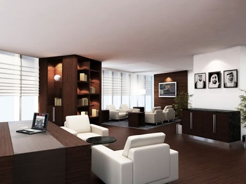 Interior Design Ideas Executive Office - YouTube