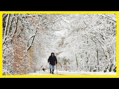 You call that snow? this is snow, northerners tell london