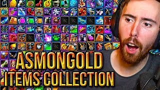 Asmongold Shows His Unbelievable Items Collection Full Of Wow Unobtainables