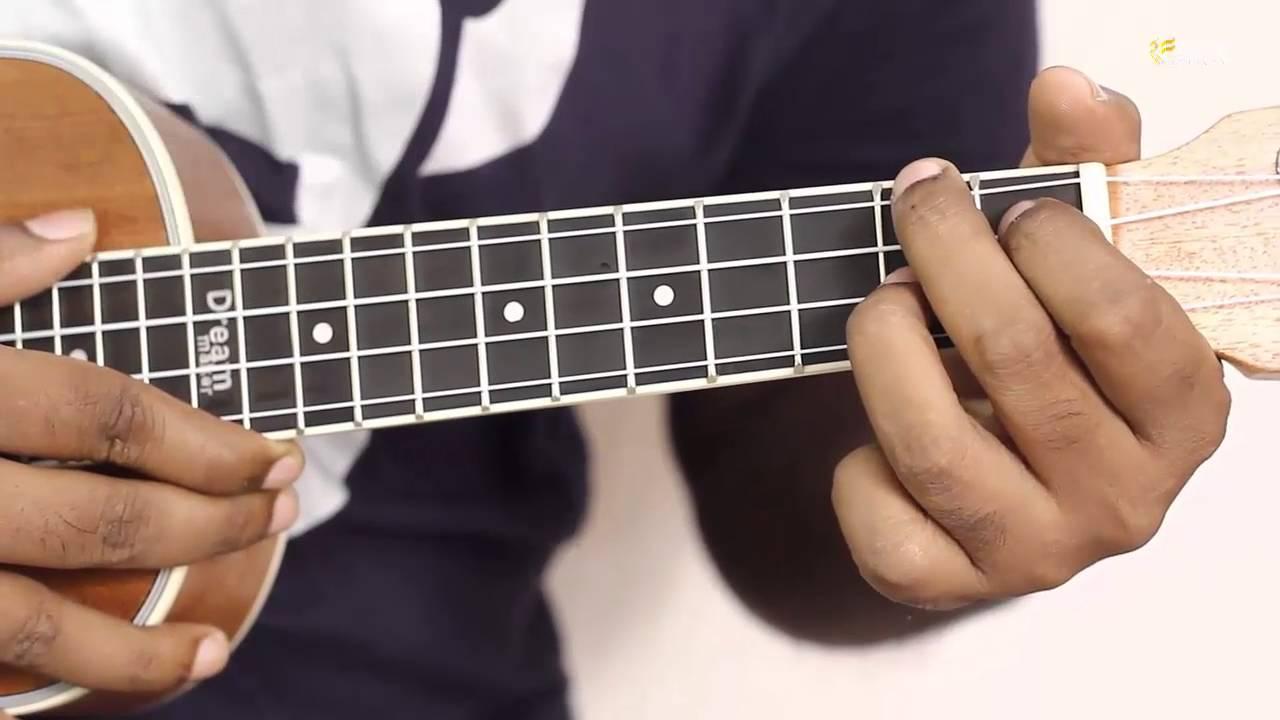How To Play F Sharp Minor Ukulele Easy Chord Ukulele Lessons