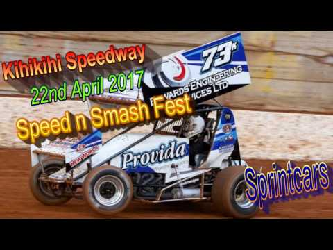 Kihikihi Speedway - Andrew Edwards Memorial Sprintcars - 22/4/2017