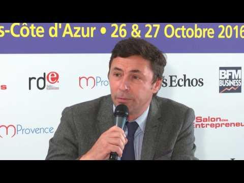 Pierre GRAND-DUFAY, Président de la commission Développement Economique de la Région PACA